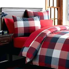 red and white duvet cover covers sets a buffalo check black grey blue set red and white duvet cover