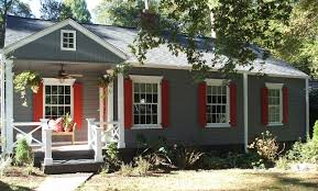 Painting Mobile Home Exterior Incredible Cabin Paint Schemes