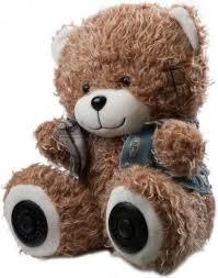 Беспроводная <b>колонка Ritmix ST</b>-<b>250</b> Bear BT, Brown — купить в ...