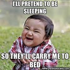 sneaky little kids!   Funny Memes   Pinterest   Funny Baby Memes ... via Relatably.com