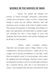 science in service of mankind essay circular essays science in the service of man