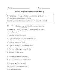 12 best Prepositions images on Pinterest | Prepositions worksheets ...
