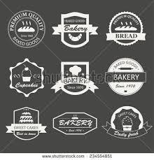 Vector Set Of Vintage Bakery Logos Stock Photo 289598630 Avopixcom
