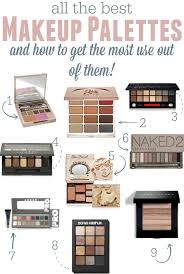makeup the most out of your makeup palette the best makeup palettes