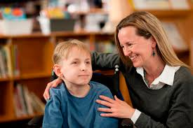 special education careers special education job interview questions teacher smiling at boy special needs