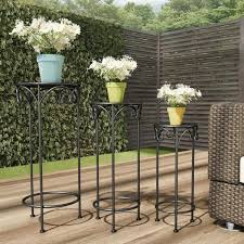 pure garden black metal decorative