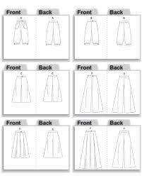 Pants Patterns Unique Butterick 48 Gaucho Pants