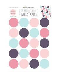 polka dot wall stickers pack gold polka dot wall stickers uk