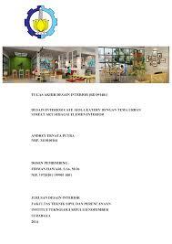 Perhitungan anggaran biaya (rab) 5. Tugas Akhir Desain Interior Rd 091481 Desain Repository