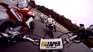 a mind freaking example of supermoto racing mettet superbiker