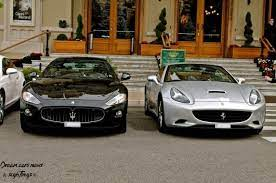Maserati Granturismo Vs Ferrari California Your Choice Maserati Granturismo Hot Cars Ferrari California