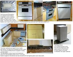 Dollhouse Furniture Kitchen How To Make Dollhouse Furniture From Recycled Materialswish I