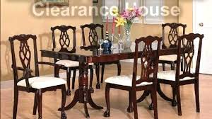 dining tables clearance dining table sets room solid wood new packages furniture chairs por set
