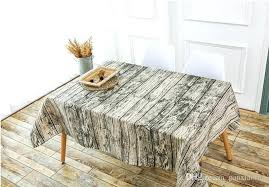 a classic retro wood grain and dust rectangular tablecloth modern simple coffee table cloth cloths factory
