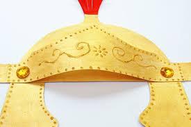 Roman Imperial Helmet | Kids' Crafts | Fun Craft Ideas | FirstPalette.com