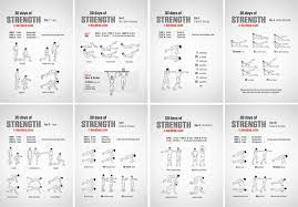 30 days of strength