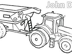 Coloring Pages Tractors Clanfieldinfo