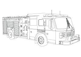Free Colouring Pages Fire Engine Firetruck Coloring Page Fire Truck