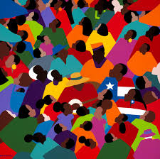 juneteenth by synthia saint james african american art black history texas celebrations holidays colorful cultural