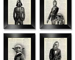 office artwork ideas. Office Wall Art Set Of Prints, Star Wars Print Set, Dictionary Artwork Ideas C