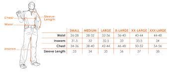 X Large Size Chart Size Chart Customer Care