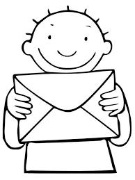 Thema Post Postbode Jules Kleurplaat Eğitim Postman Pat Post