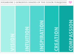 Color shades  teal paint swatches - Google Search