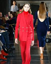 a look from the gabriela hearst fall winter 2017 collection a look from the victoria beckham fall winter 2017 collection