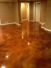interior residential stained concrete floors acid stain kit basement floor staining diy patio