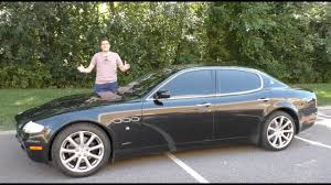 A Used Maserati Quattroporte is the Best Way to Look Rich for ...