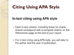 Ppt Citing Using Apa Style Powerpoint Presentation Id1680794
