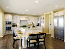 eat in kitchen furniture. Kitchen Island With Bar Seating Table Attached Picture Window Within Decoration Effect Eat In Furniture