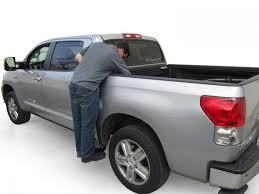 AMP Research 75405-01A BedStep2 Retractable Truck Bed Side ...