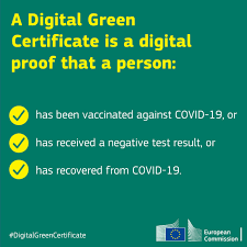 A digital green certificate offers... - European Commission