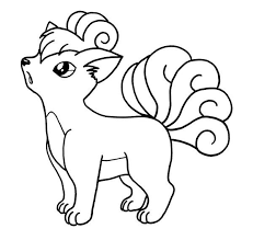4 Vulpix Lineart Base Pokemon For Free Download On Ayoqqorg