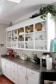 Cabinet Open Shelving Kitchen Cabinets Ideas Of Using
