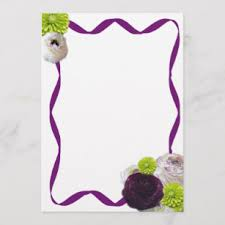 purple note cards purple roses note cards zazzle