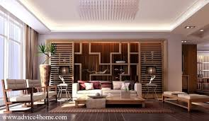 stylish lighting living. white simple pop design and stylish lighting in living room