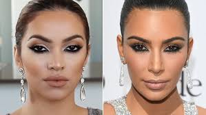 make up with jah shows how to get the kim kardashian at ces 2016 look with this make up tutorial