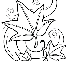 Coloring Pages Of Fall Leaves Anneliesedalabaorg