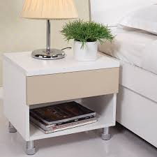 Side Bedroom Tables Nightstands Bedside Tables Interesting Bed Design With Side