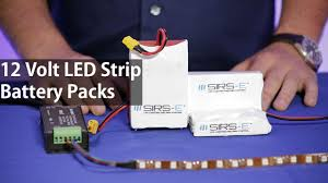 led battery pack 12 volts for led strip lights high quality