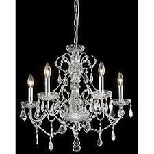 glam lighting. new orleans 5light crystal chandelier silver chrome glam lighting s