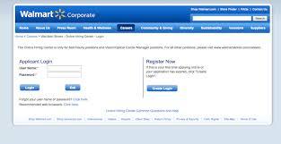 Walmart Application Walmart Career Application Login English Cv Sample Waiter