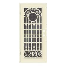 perforated metal screen door. Unique Home Designs 32 In. X 80 Spaniard Beige Hammer Left-Hand Perforated Metal Screen Door
