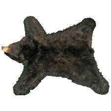bear fur rug taxidermy mounted backed brown bear skin rug for polar bear skin rug