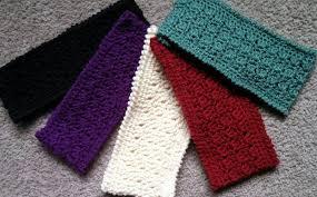 Easy Crochet Headband Pattern Free Delectable Amazing Grace Headband AllFreeCrochet