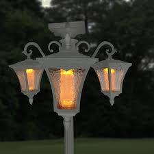 Vittoria Solar Lamp Post And Planter