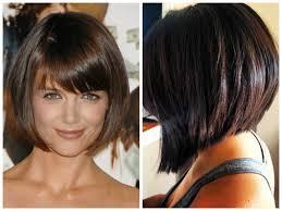 Layered Inverted Bob Hairstyle Haircuts Black