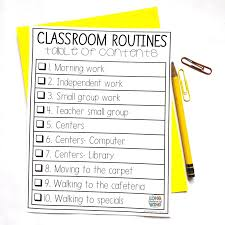Classroom Routine Chart The Ultimate Classroom Management Guide Longwing Learning